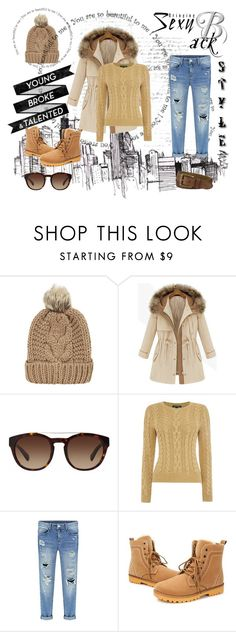 """:)"" by mery66 ❤ liked on Polyvore featuring moda, Chicnova Fashion, Dolce&Gabbana, Timberland e Lauren Ralph Lauren"