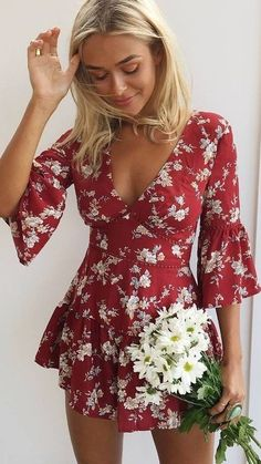 #muraboutique #label #outfitideas |  Romantic Playsuit