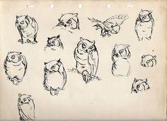 Deja Vista: Disney Owls