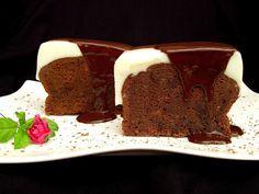 Delicia de #chocolate y leche condensada. Ver receta: http://www.mis-recetas.org/recetas/show/41051-delicia-de-chocolate-y-leche-condensada #bizcocho #golosos