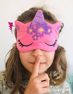 Items similar to Unicorn sleep mask, Unicorn Party Favors on Etsy Cute Sleep Mask, Party Favors, Pajama Party, Travel Gifts, Unicorn Party, Spa Day, Mask For Kids, Gift For Lover, Gifts For Family