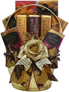 Are you looking for a great gift idea for men on Valentine's Day? Consider one of these chocolate gift baskets because your guy is sure to l...
