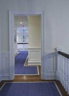 Hallway runners.