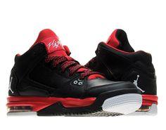 6f67ca2ff96b Nike Air Jordan Flight Origin Black White (GS) Boys Basketball Shoes  599606-001