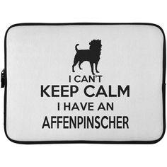 I Cant Keep Calm I Have An Affenpinscher Laptop Cases