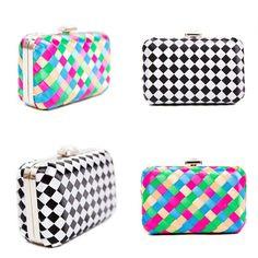 HARLEQUIN BOX CLUTCH BAGS http://www.liliesanddreams.co.uk/handbags/clutchbags … @LiliesDreams