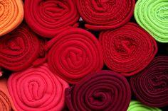 Fabric, Wool, Roll, Decoration