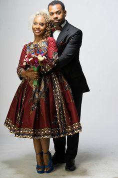 M K E Belle Dress made from Java African Print by LiLiCreations ~African fashion, Ankara, kitenge, African women dresses, African prints, African men's fashion, Nigerian style, Ghanaian fashion ~DKK
