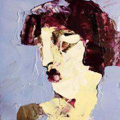 Weg, (#0029), 20 x 20 cm, Acryl auf der HDF-Malplatte, 2016