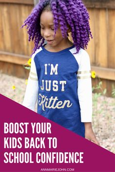 How to Boost Your Kids Back to School Confidence. We Share How With Tips and Help From @OshKoshBGosh. #ad #StyleUp4School