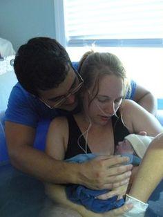 Cora's Homebirth-Nashville Hypnobabies birth. Nashville Birth & Babies