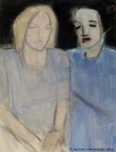 Friends.  Helene Schjerfbeck.