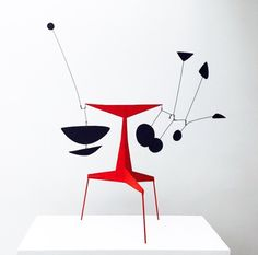 "modernlove20: ""At the Calder Foundation, photo by Michael Shome. """
