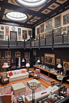 Buchbesprechung - The English Country House! - Mix and Chic: Buchbesprechung – The English Country House! English Country Decor, Country Style, Country Living, French Country, English Interior, Library Furniture, Furniture Design, Home Libraries, Beautiful Interiors