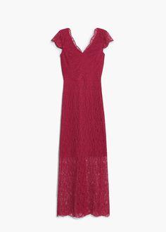 Φόρεμα γκιπούρ   MANGO