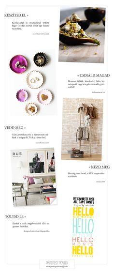 Pinterest Péntek ~ PIN MAGAZIN Rum, Latte, Friday, Inspiration, Shopping, Biblical Inspiration, Rome, Inspirational, Inhalation