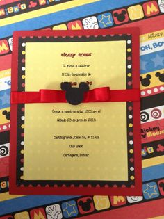 Invitacion cumpleaños By Card Dreams