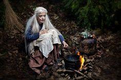 The Wise Woman - Lunaesque Creative Photography Costume - The Dark Angel Design Co Witch Craft, Gary Zukav, Beltane, Sacred Feminine, Divine Feminine, Fantasy Photography, Creative Photography, Wise Women, Old Women