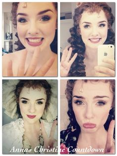 Anna O'Byrne and her Christine Countdown for her performances as Christine Daae at Her Majestys Theatre