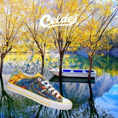 Casual high quality canvas shoes with famous destinations from around the world. Rhodes, Greece, Around The Worlds, Lost, Autumn, Explore, Canvas, Sneakers, Nature