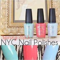 New NYC Nail Polishes for Spring 2013