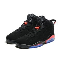 b8966f93846b01 low cost air jordan 6 infrared 23 black red retro cheap jordans from china  on sale