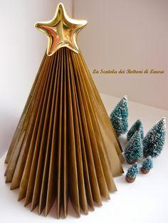 I fiori di Marica: Guest post - Laura ed il suo Albero di Carta origami Tutorial