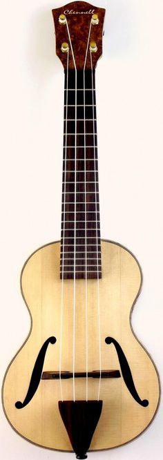 New picture of my Toby Chennell Jazzbox archtop Soprano