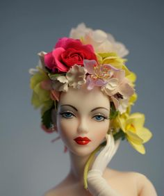 JS Gene Marshall ~ 'Phoenix' in hat by Mel Odom ~ The Studio Commissary