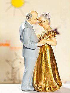 Torte-Hochzeit-Deko-Figuren-Paerchen-Torten-Figuren-goldene-Hochzeit-oldies