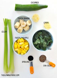 Healthy Detox, Healthy Smoothies, Healthy Drinks, Easy Detox, Green Smoothies, Healthy Water, Kale Smoothie Recipes, Green Juice Recipes, Diet Drinks