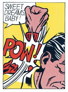 Sweet Dreams - Roy Lichtenstein