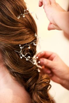 Hair Vine — pretty for bridal hair.