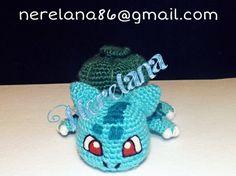 Bulbasaur hecho en lana a mano, crea tu propia colección de pokemons, ¿porque no empezar con uno como este? Animaos, a muy buen precio, envíos a toda España!! Consúltanos en nerelana86@gmail.com