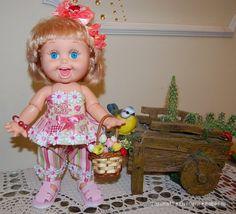 Красавица ПЕННИ -хохотушка ,виселушка куклы Galoob Baby Face dolls / Одежда и обувь для кукол - своими руками и не только / Бэйбики. Куклы фото. Одежда для кукол