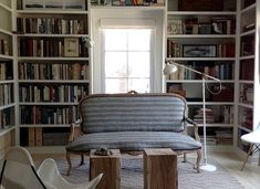 Book Smart: 10 Envy-Inducing Built-In Bookshelves - The Organized Home