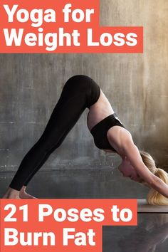 The 21 Best Yoga Asanas For Losing Weight Quickly Yoga is a great tool for those that want to lose weight. Here are 21 awesome yoga poses that are going to help you lose weight quickly. Quick Weight Loss Tips, Yoga For Weight Loss, Losing Weight Tips, Weight Loss Goals, How To Lose Weight Fast, Weight Gain, Weight Control, Body Weight, Loose Weight
