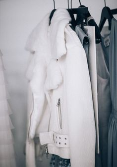 white jacket via Apartment 34