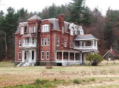 Wow! I would love a property like this! Graves Mansion; Plattsburgh, NY