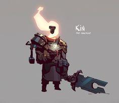 ArtStation - Pathfinder 1: Kin, Joshua Brian Smith