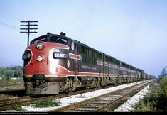 RailPictures.Net Photo: CGW 106C Chicago Great Western EMD F3(A) at Bellwood, Illinois by James Humbert
