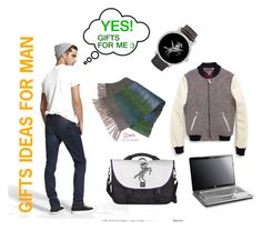 GIFTS IDEAS FOR MAN by l-art-design on Polyvore featuring Tommy Hilfiger and DL1961 Premium Denim
