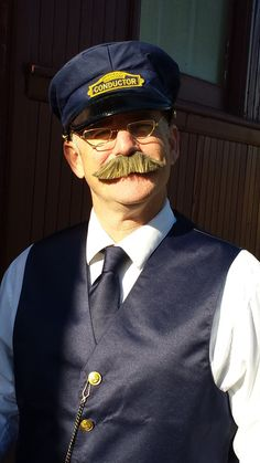 7c5c9750b15 We offer authentic-looking Train Conductor Costumes for Children and  Adults. These high-quality costumes are made to look like a