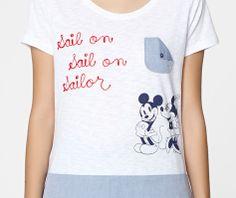 Camiseta Minnie bolsillo - OYSHO