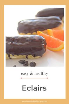 This one is for all French dessert lovers. Chocolate Eclair Recipe is one of the most famous and most delicious desserts ever created. Traditional French Desserts, Classic French Desserts, French Dessert Recipes, French Recipes, Sour Cream Desserts, Fancy Desserts, Holiday Desserts, Delicious Desserts, Chocolate Eclair Recipe