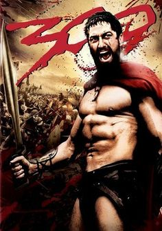 Perhaps it's all the half naked men but my #interfloramum love, love, loves the film 300!!! I am also betting it's because she is a bit of a Gerard Burler fan!!! #ThisIsSparta!!!