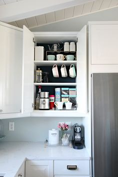 *the flower vase is hiding the Nespresso cord *other coffee bar inspiration: http://schaafhouse.blogspot.com/2013/12/the-coffee-bar.html#comment-form