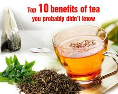advantages of tea leaves