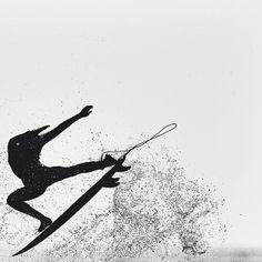 It looks like interpretive surf dancing hehe :)