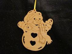 snowman ornament, visit my page @ etsy. Enter DavesSawdustFactory.  Thank you